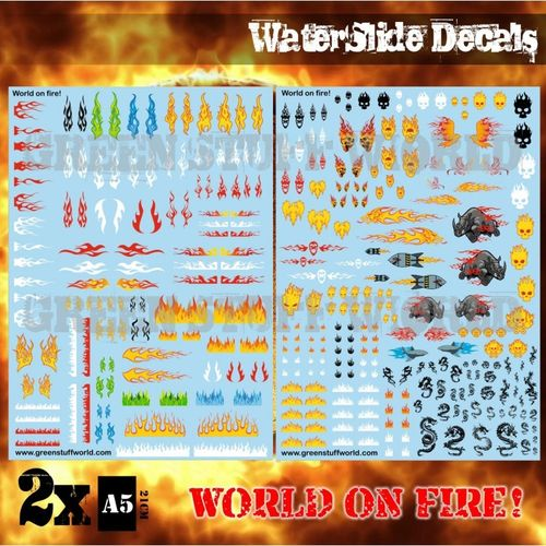 Decals World on Fire
