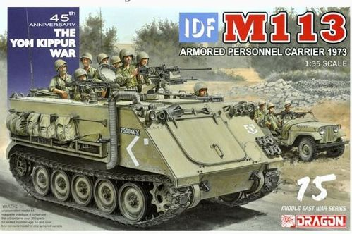 IDF M113 Armored Personnel Carrier - Yom Kippur War 1973 1/35