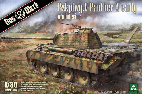 Pzkpfwg. V Panther Ausf.A Early  1/35