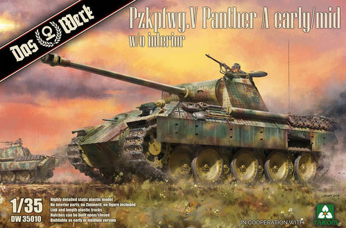 Pzkpfwg. V Panther Ausf.A Early / Mid 1/35