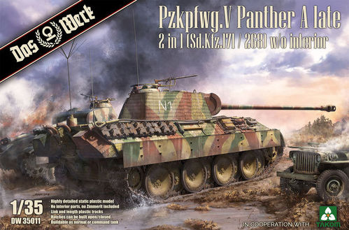 Pzkpfwg. V Panther Ausf.A Late 2 in  1/35