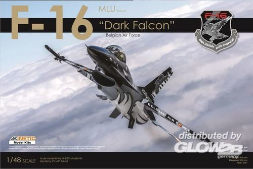 "F-16 ""Dark Falcon"" Belgian Air Force, Limited Edition  1/48"