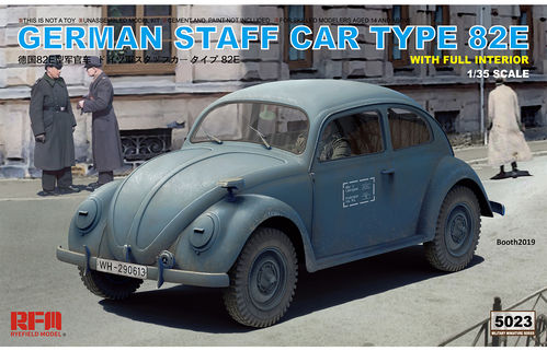 RM-5023 GERMAN STAFF CAR TYPE 82E  1/35