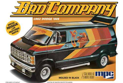 Bad Company 1982 Dodge Van 1/25