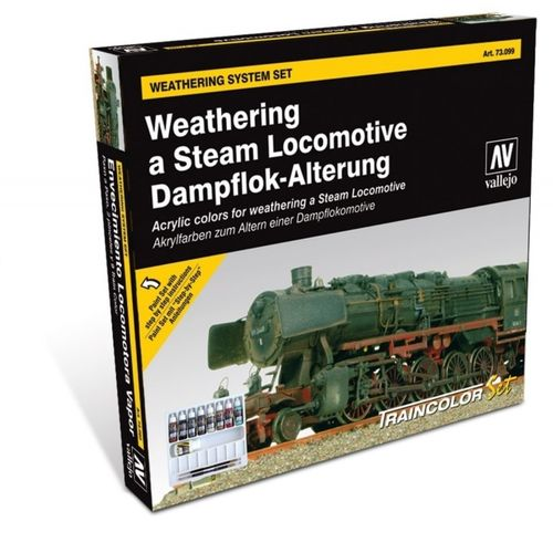 Traincolor Weathering a steam locomotive