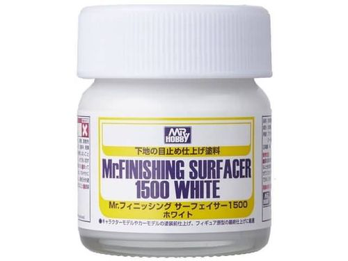 Mr. Surfacer 1500 White