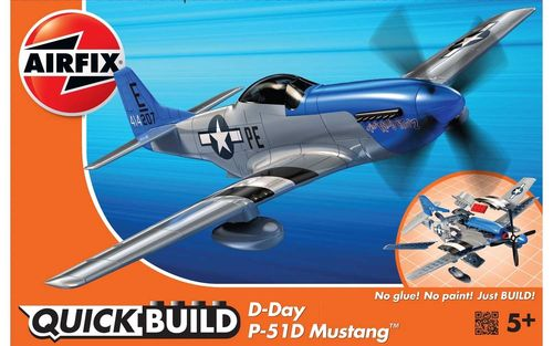 Quick Build: D-Day Mustang P-51D
