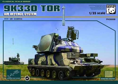 Russian 9K330 Tor Air Defence System 1/35