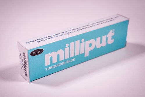 Milliput Putty Turquoise-Blue