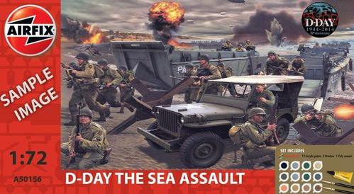 D-Day 75th Anniversary Sea Assault Gift Set 1/76