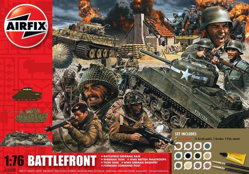 D-Day 75th Anniversary Battlefront Gift Set 1/76