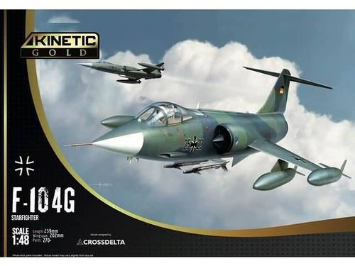 F-104G Germany Air Force and Marine 1/48
