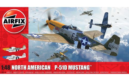 North American P51-D Mustang(Filletless Tails)  1/48