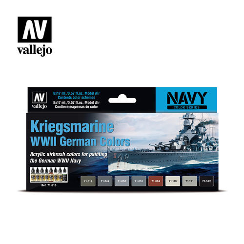 Kriegsmarine WWII German Colors