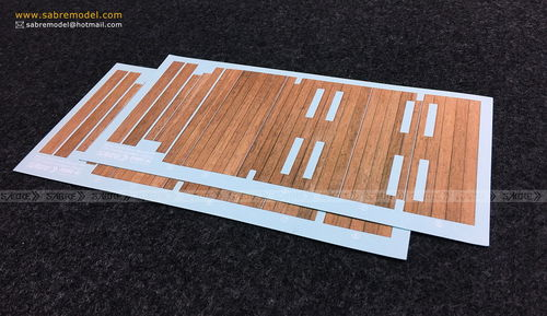 Complete Wood Grain Decals for railcar deck  1/35