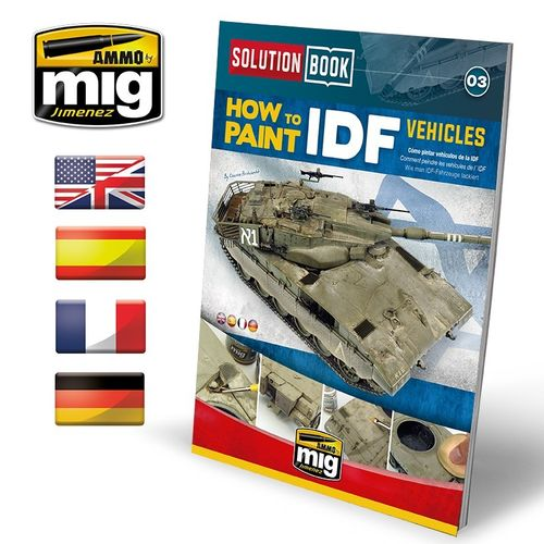 Solution Book: How To Paint IDF Vehicles