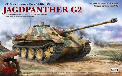 Jagdpanther G2 + workable tracks  1/35
