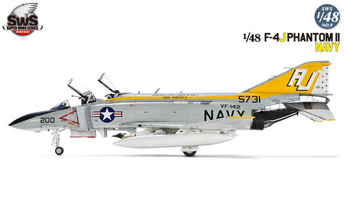 F-4J Phantom II Navy 1/48