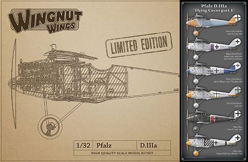 Pfalz D.IIIa Flying Circus part 1 LIMITED EDITION 1/32