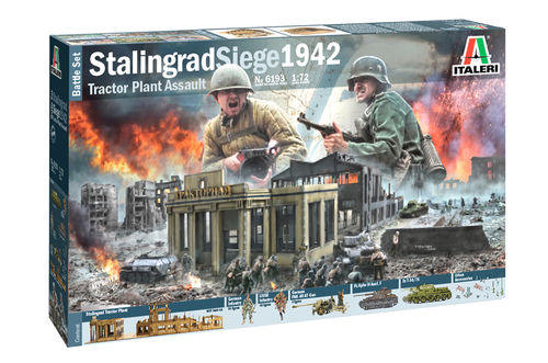 Stalingrad Siege 1942 Battle Set  1/72
