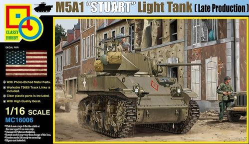 M5A1 Stuart (Late Production) 1/16