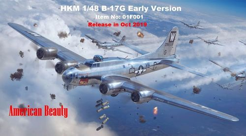 B-17G Flying Fortress early production  1/48
