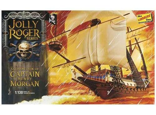 Captain Henry Morgan *Satisfaction* Pirate ship  1/130