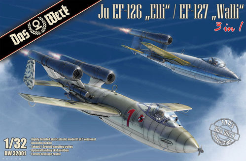 "Ju EF-126 ""Elli"" / EF-127 ""Walli"" (3 in 1)  1/32"