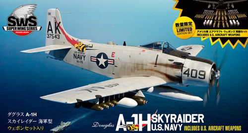 Douglas A-1H Skyraider U.S Air Force with U.S Aircraft Weapons  1/32