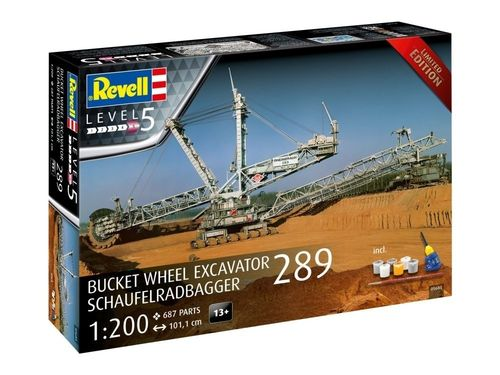 Bucket wheel excavator 289 Ltd.edition 1/200