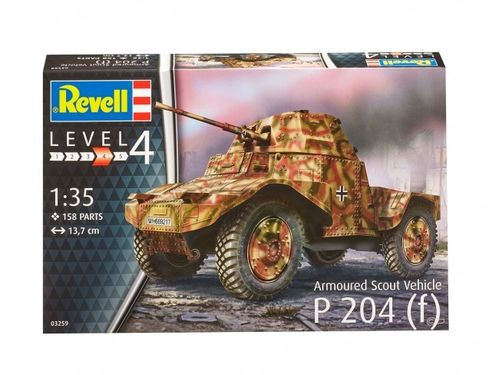 Armoured Scout Vehicle P 204 (f) 1/35
