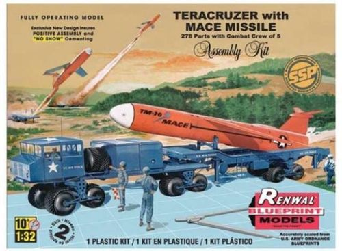 Teracruzer with Mace Missile (Renwal Model) 1/32