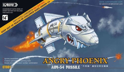 "Angry Phoenix"" AIM-54 missile - Duo-pack"