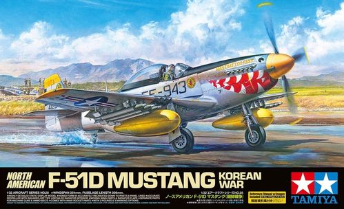 North American F-51D Mustang 1/32