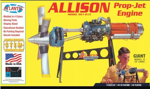 Allison Prop-Jet Engine Model 501-D13