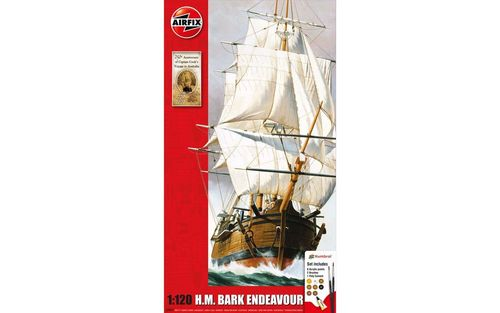 Endeavour Bark and Captain Cook 250th anniversary 1/120