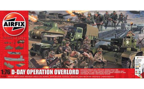 D-Day 75th Anniversary Operation Overlor Gift Set 1/76