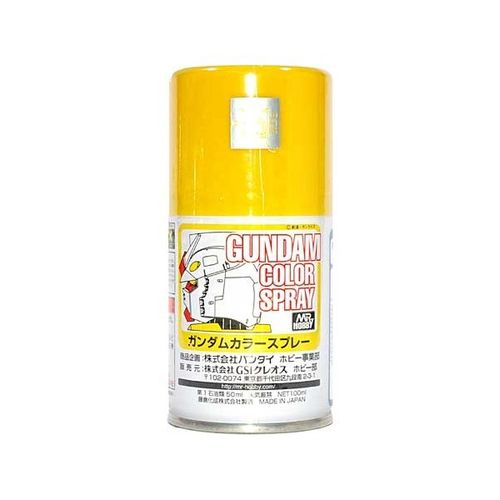 Gundam Color Spray MS Yellow-100ml
