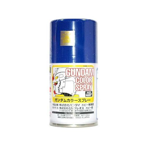 Gundam Color Spray A.E.U.G'.s MS Blue  -100ml