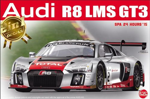 Audi R8 LMS GT3 SPA 24 Hours'15 1/24