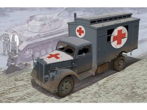 German Ambulance Truck 1/35