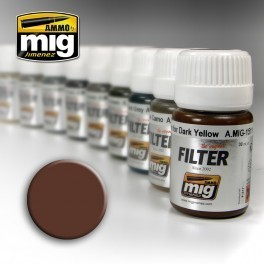 MIG Filter Brown For White