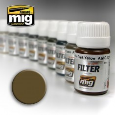 MIG Filter Brown For Desert Yellow