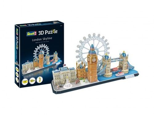 3D Puzzel London Skyline
