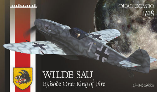 WILDE SAU aflevering 1: RING of FIRE, Lim.Ed. (dual combo) 1/48