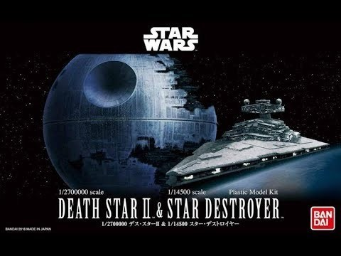 Death Star & Star Destroyer
