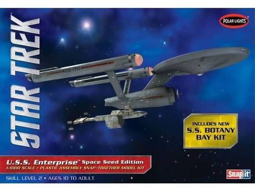 USS Enterprise Space Seed Edition 1/1000