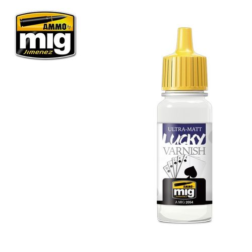 Ultra Matt Lucky Varnish (17ml)