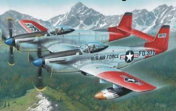 "F-82H TwinMustang ""Alas. All Weather F."" 1/72"