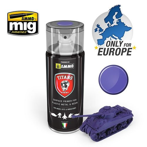 Titans Hobby: Magic Purple Matt Primer  (400ml)